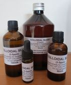 Colloidal Silver - Natural alternative to anti-biotics for birds - Available in 10ml, 50ml, 100ml & 500ml